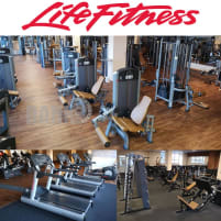 Life Fitness & Hammer Strength - 101 Fitnessmachines, Strength Stack machines, Cardio, Plate loaded, Benches, Racks etc - complete Gym Equipment in good used conditon, refurbished