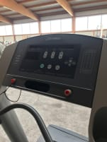 Life Fitness 93T Professional Treadmill with new carpet ! Optical and technical top