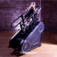 StairMaster 10G - THE HARDEST WORKOUT IN THE GYM JUST GOT HARDER.