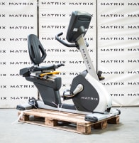 Matrix Fitness   R3x recumbent bike from studio resolution   Iced Silver   2017