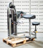 Matrix Fitness | Aura Serie | Bizepsmaschine (G3-S40) aus Studioauflösung | Iced Silver | 2016