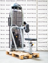 Matrix Fitness | Aura Series | Rowing sitting dual, converging (G3-S34) from studio resolution | Iced Silver | 2017