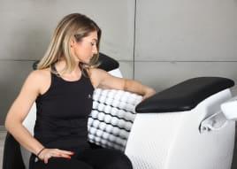 NEU Infrarot Rollenmassagegerät Rollenmassage Massagegerät mit Infrarot - Touch Screen (NPG ROLL Infrared massager)