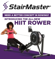 StairMaster HIIT Rower  - die perfekte Cardio-Alternative!