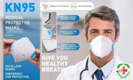 FFP2 / KN95 / N95 Masks / Respirators - CERTIFIED and ORIGINAL