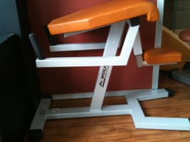 used gluteus muscle training device