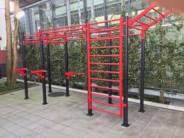 Outdoor Cross Functional Cage, Functional Rack