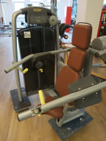Side lifting machine for shoulder training