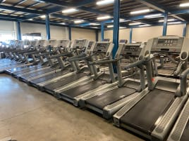 Life Fitness Silverline Cardio 95Ti treadmill, 95Xi Crosstrainer, 95Ci Bike & 95Ri Recumbent Bike