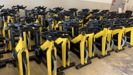 Technogym Gruppe fährt Indoor Bike