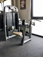"Rowing machine ""Upper Back"" from Technogym"