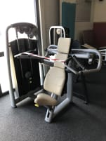 Shoulder press from Technogym