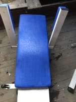 Dr. Wolff - Lower Abdominal Trainer 345 (abdominal muscle trainer) (blue-white)