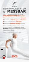 seca mBCA552 Innovative Körperanalyse mit EGYM Schnittstelle und Cloud Anbindung + RFID Check In
