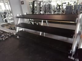 Used dumbbell stand from the company Matrix