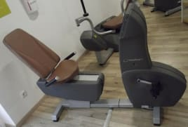 Milon Premium Ergometer Lying Cardio Fitness Training Studio Professional, rarely available!