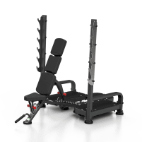 Marbo Sport Olympia weight bench MP-L213 - sample - Upholstery & frame colour black - as good as new