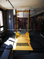 1 x Hammer Strengh HD Elite Half Rack full options