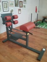 Two used machines, Gluteaus and Kombi Erector Spinner with Gluteaus