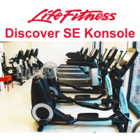 Life Fitness 18 Stk. Cardiogeräte Set, Discover SE Konsolen, TV Touch, Youtube, Internet, DVB-T2 Fernsehen usw. 4 Jahre jung - Neuwertig - Top Zustand!