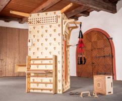 GYMtower –Multifunctional-, Trainings-, Therapie- und Climbingwall