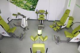 excio Gerätezirkel Display Kraftzirkel, Highline, Sport, Fitness