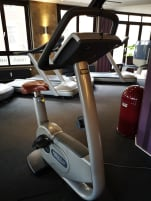 Technogym bicycle sitting BIKE EXC 500i
