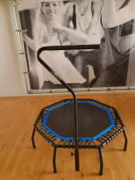 Original World Jumping Tramoline as good as new including accessories