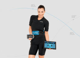 Starter pack of 2 - mobile EMS device of i-motion brand, directly from the manufacturer with 5 years warranty