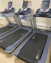 Precor TRM 885 P80 Blue treadmill new model a dream of a treadmill