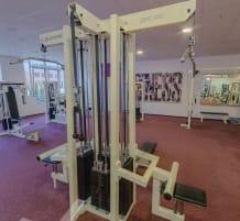 Gerätepark gym80 / neu gepolstert und in einem sehr guten Zustand