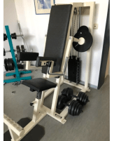 Shoulder trainer side lifting machine