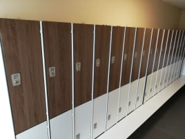Lockers very good condition