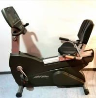 Life Fitness ergometer bike in TOP condition