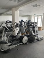 18 cardio machines from Technogym and Precor / used / incl. 2 AMT from Precor