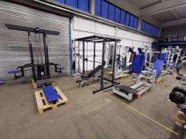 TOP! Gym80 Equipment Park Dumbbell 4 Stations Tower Cablecross