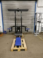 TOP! Gym80 4 four stations tower lat pulldown rowing triceps