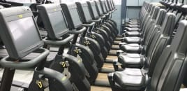 Technogym Excite 1000 Recumbent-Bike with Unity 3.0 console - 6 months warranty - TOP condition !!!