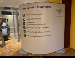 Cardioscan test center walls