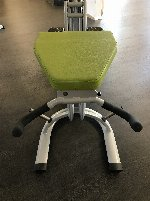 Dr.Wolff Elypso 406, Gluteaustrainer, Lime/Grau