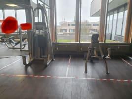 *wie neu* Precor Gerätepark Kraftgeräte komplettes Fitnessstudio Vitality und Icarian