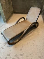 Sauna benches d.brown, adjustable- 10 pieces