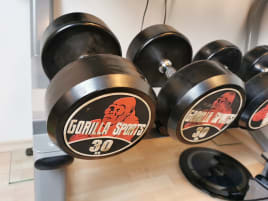 Gorilla Sports Dumbbells