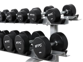 NPG Rubber Dumbbells Set 2.5 - 50 kg- NEW!