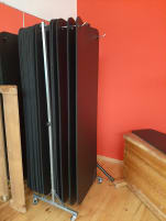 Fitness mat ProfiGymMat /15 mats plus 2 stands