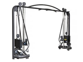 NPG T line 618 Crossover - Cable Pull Station, Diagol Suit - 100kg per side Cable Crossover