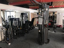 used Cybex Cable Cross incl. lat pulley and pull-up / dips