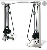 2 gebrauchte Technogym Kabelzüge