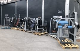 TECHNOGYM SELECTION SET OF 7 STRENGTH MACHINES
