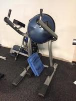 Life Fitness/ Bauch/Roman Chair (mit Gebrauchsspuren aber reparierbar)